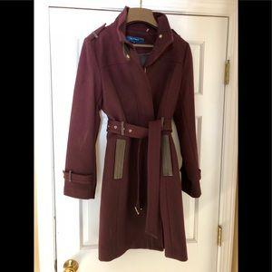 Like new coat beautiful color